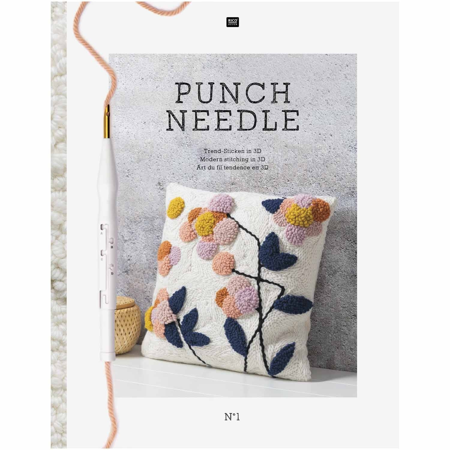 Punch Needle Buch