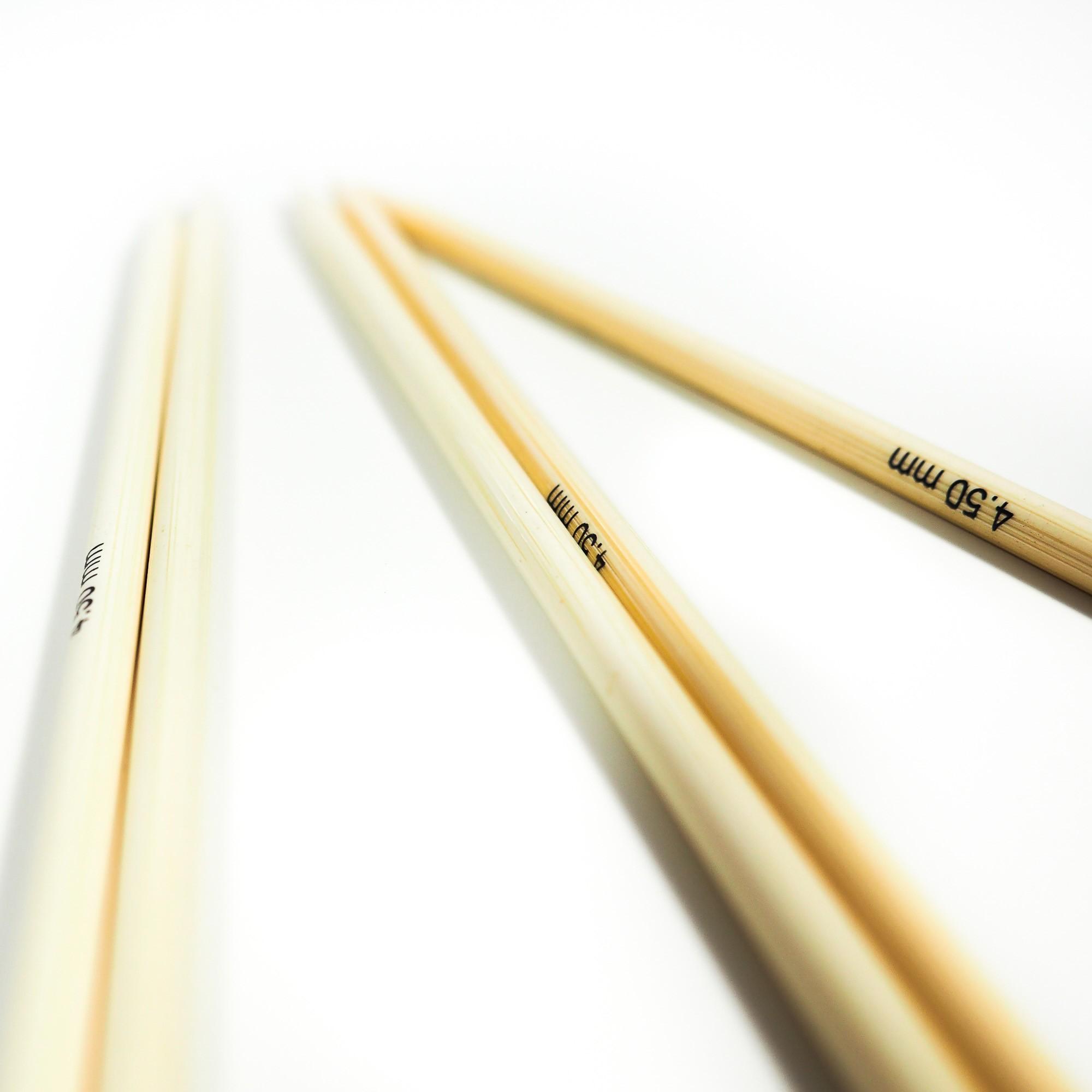 Strumpfstricknadel Bambus 20cm