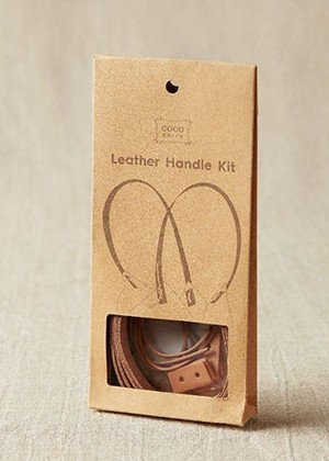 Coco Knits leather handle