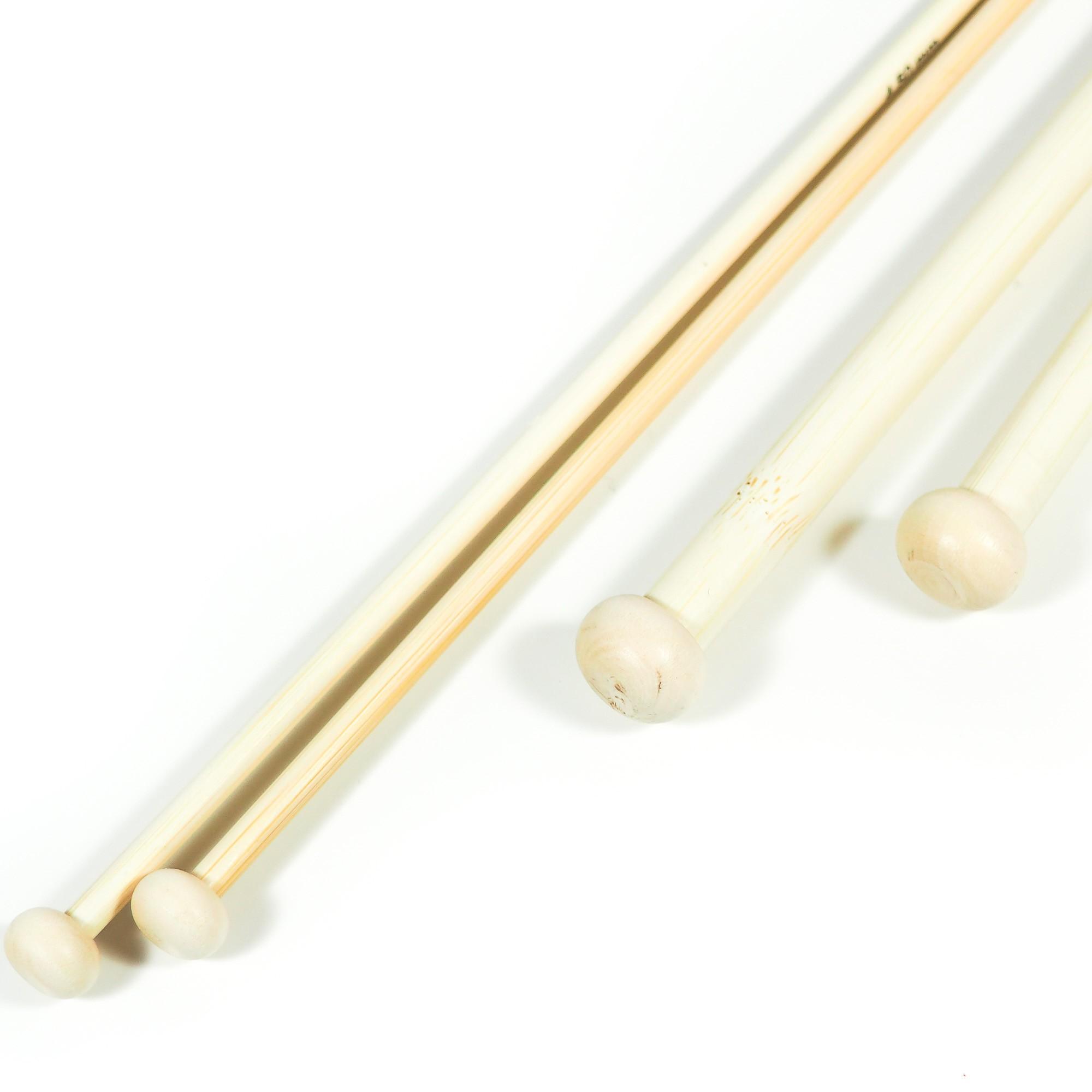 Classic Knitting Needles Bamboo 33cm