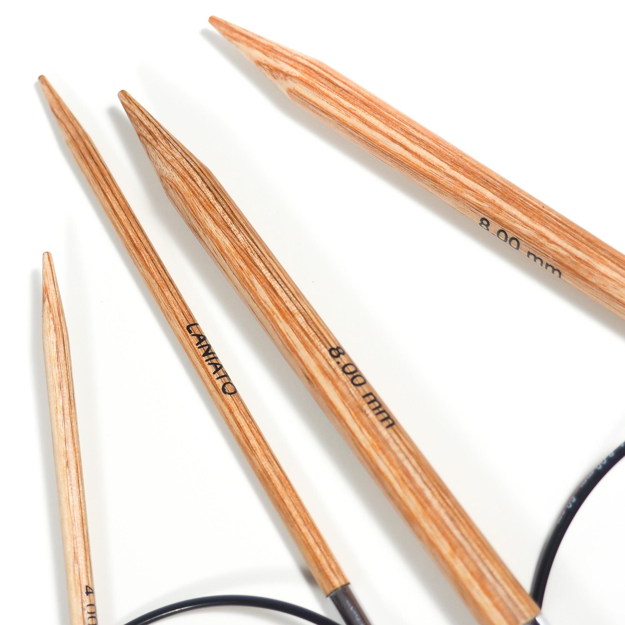 """Needles """"Laniato"""" 80 cm"""